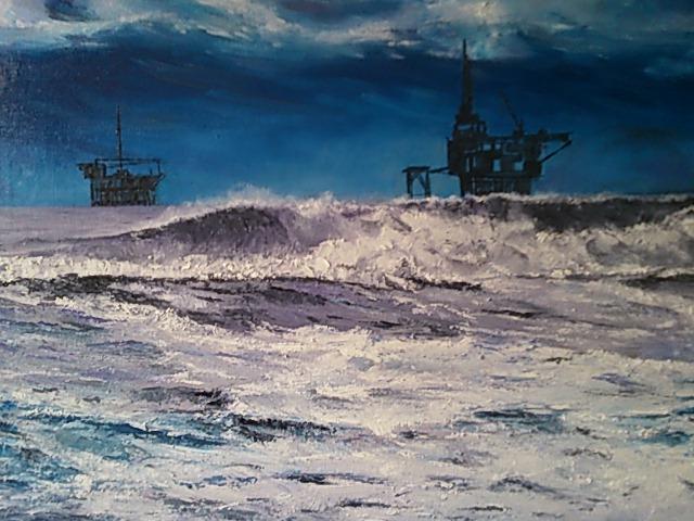 Tormenta En El Mar Del Norte